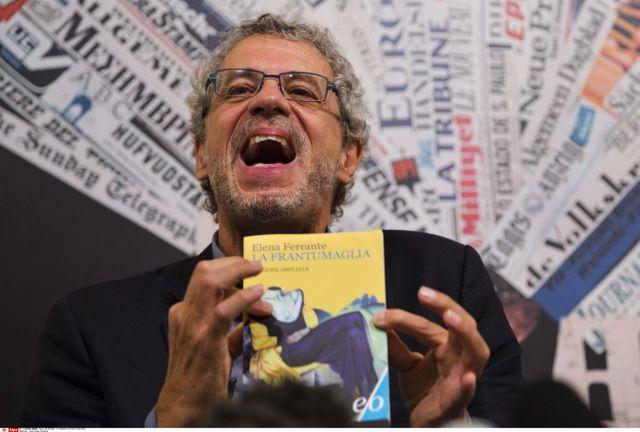 Claudio Gatti, journaliste italien indépendant du quotidien économique Il Sole 24 Ore, Rome, le 7 octobre 2016 (Italie)