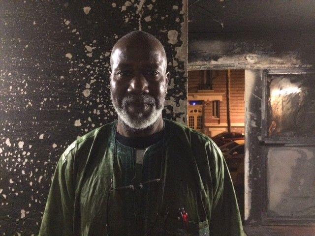 Bakary Cissoko, président du comité des résidents du Foyer de Travailleurs Migrants de la rue Nationale à Boulogne-Billancourt