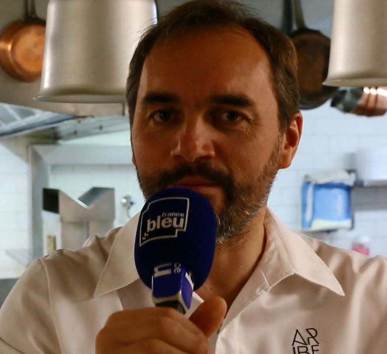 Christophe Aribert, président du jury du championnat France Bleu du gratin dauphinois
