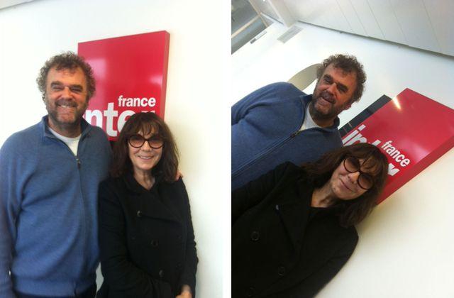Pippo Delbono et Sophie Calle pour l'émission Dans tes rêves, janvier 2017