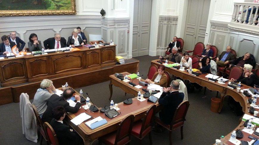 L'hémicycle du Conseil Départemental de Vaucluse