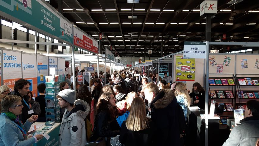 personnes attendues au salon de l 39 tudiant de bordeaux