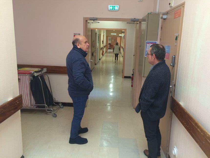 Jean-Pierre Buix et Thierry Dessales demandent de l'aide à l'Etat et au Conseil départemental de la Drôme.