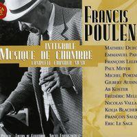 Sonate FP 184 : Romanza - pour clarinette et piano - Eric Le Sage