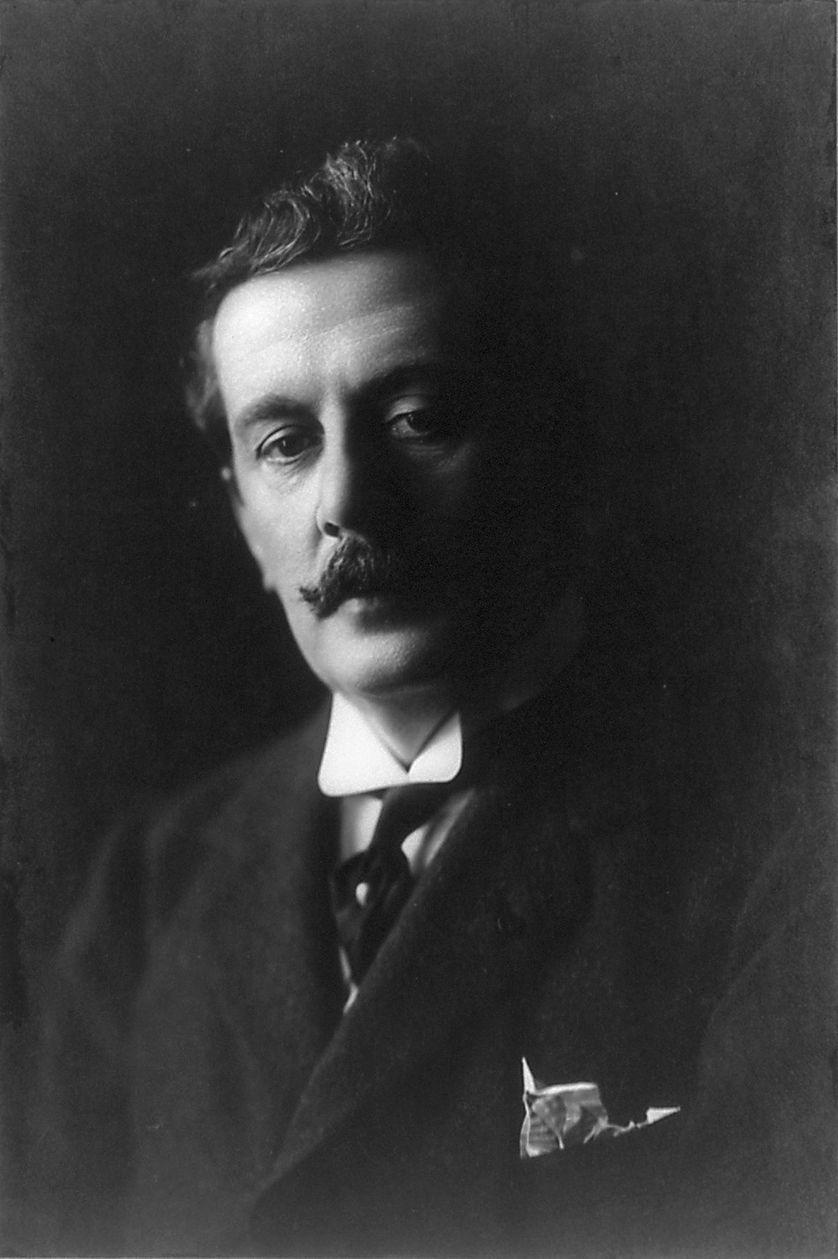 Puccini en 1907