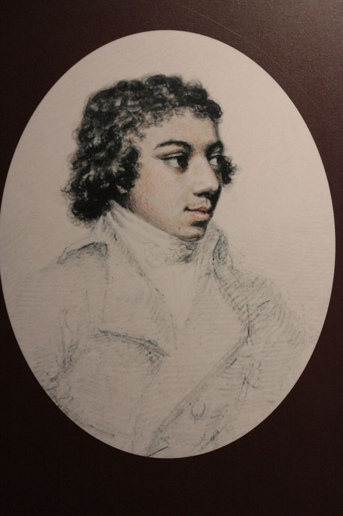 George Bridgetower, dessiné par Henry Edridge vers 1790