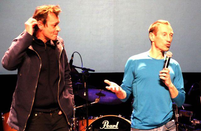 Eric Lambé et Philippe de Pierpont