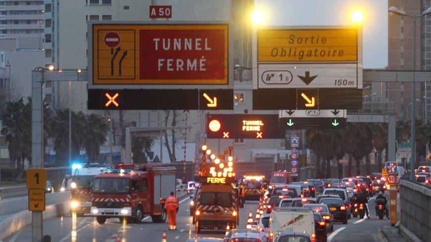 Le tunnel de Toulon sera fermé quelques nuits cette semaine