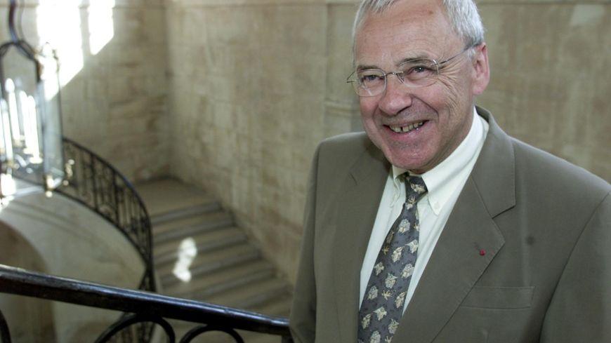 René Garrec, ancien sénateur UMP du Calvados
