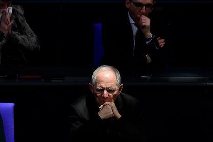 Wolfgang Schäuble, ministre des Finances en Allemagne, récolte les fruits d'une discipline souvent impopulaire