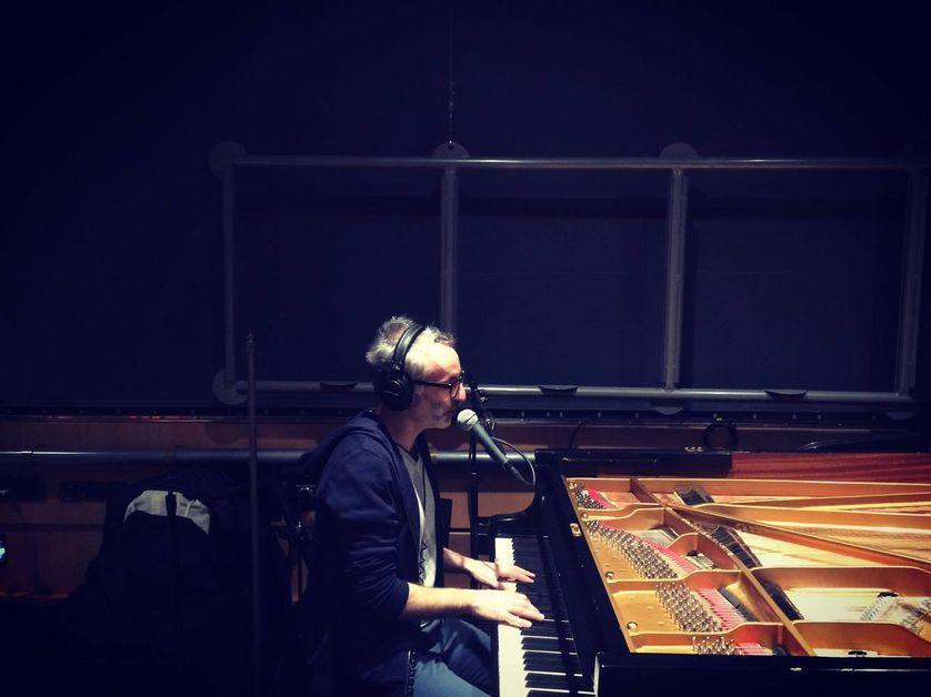 Vincent Delerm en studio