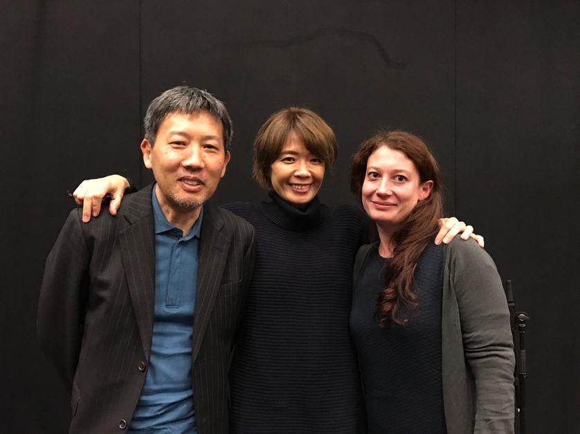 Mari Yamazaki & Lucie Servin