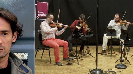 """"""" Tribology """" pour quatuor à cordes de Sébastien Rivas (2/5)"""