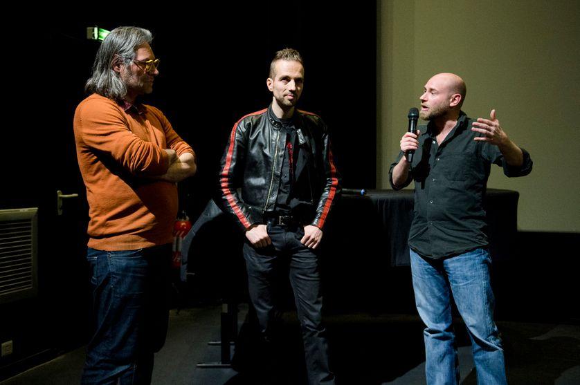 De gauche à droite : Gilles Chétanian, Jacques Thorens & Franck Lubet