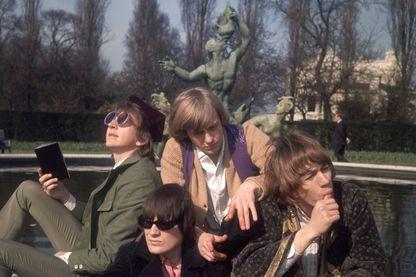 Soft Machine en janvier 1967