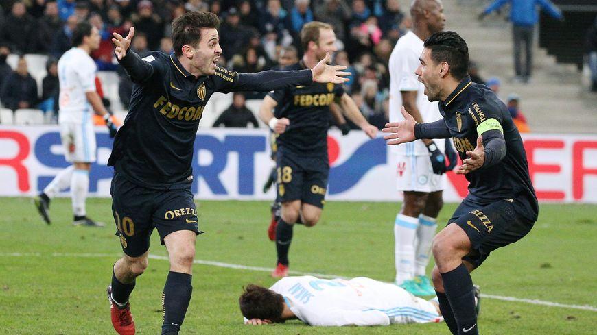 Monaco a surclassé l'OM au Vélodrome pour prendre la tête de la Ligue 1