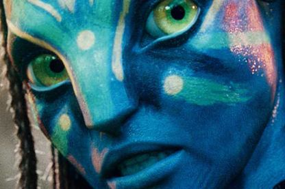 Détail de l'affiche d'Avatar de James Cameron
