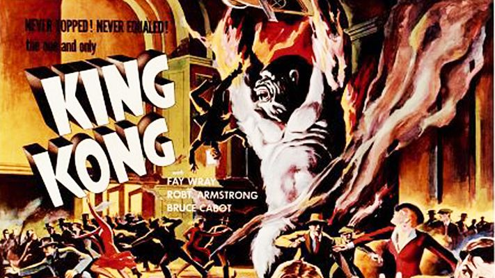 The film poster for King Kong (1933)