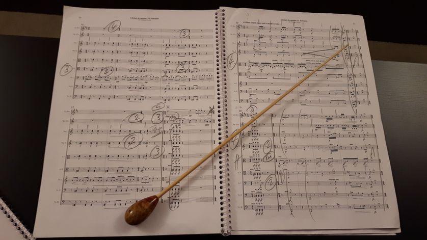 Restitution des idées musicales des détenus de la prison de Meaux, à partir du Mystère de l'Instant d'Henri Dutilleux