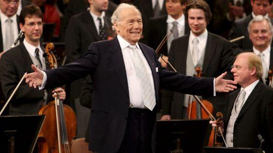 Georges Prêtre et l'Orchestre Philharmonique de Vienne pour le Concert du Nouvel An en 2007