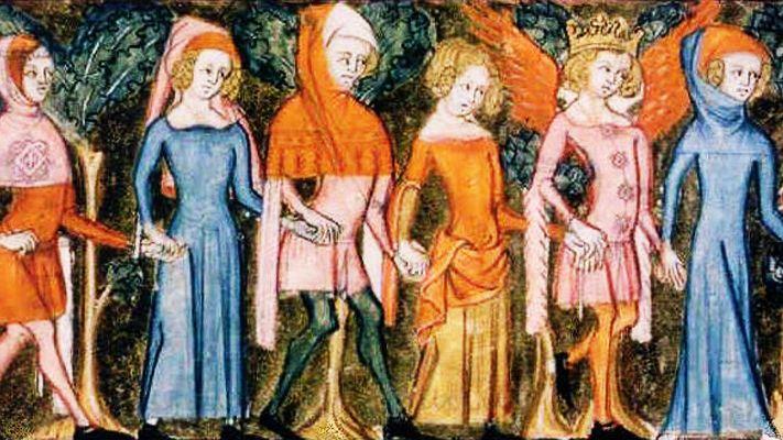 Enluminure, XIVe siècle / BnF
