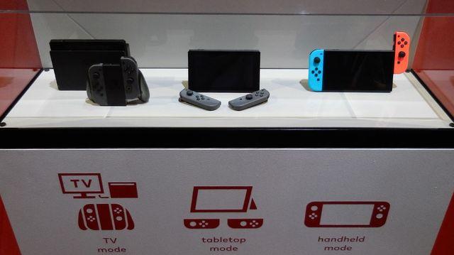 Les trois modes de jeu de la Nintendo Switch