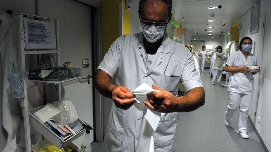 Une unité dédiée aux malades de la grippe - photo d'illustration