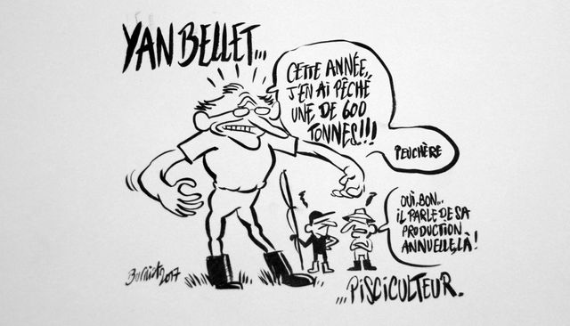 Yan Bellet vu par Mathieu Burniat