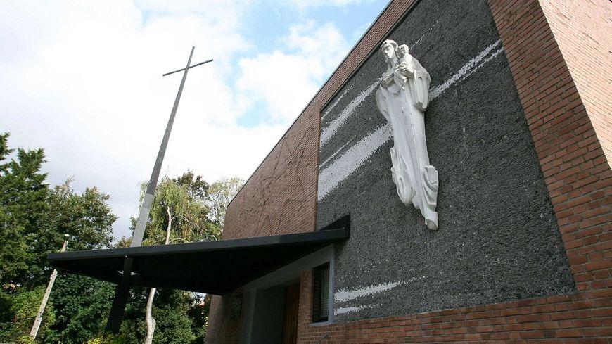 L'église du Millenium a été érigée à Lens, grâce à la mobilisation de la communauté polonaise