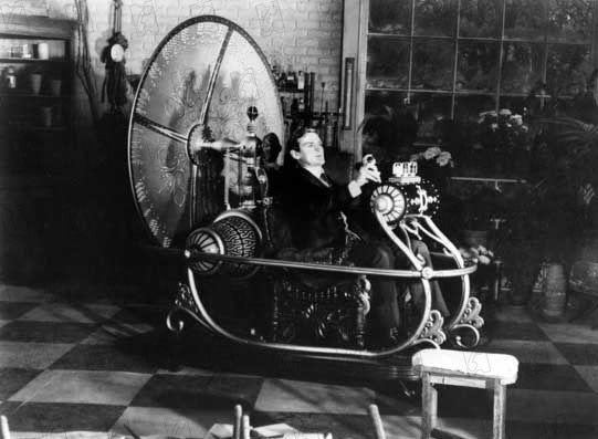 La machine à voyager dans le temps, dans le film inspiré du roman de H.G Wells, en 1961.
