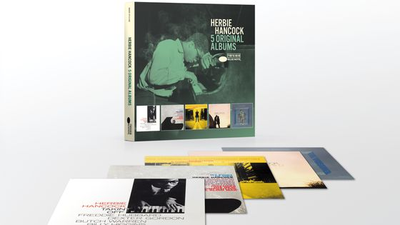 Herbie Hancock 5 Originals Albums