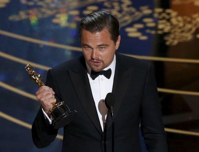 Leonardo Di Caprio sacré aux Oscars en 2016, après les Golden Globes