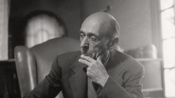 Arnold Schoenberg à Los Angeles en 1936 (3/5)