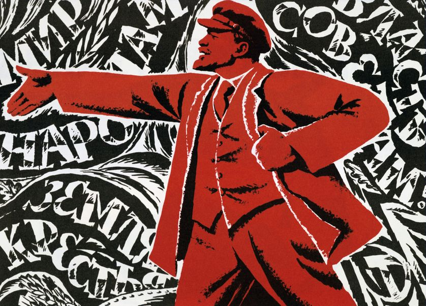 Révolution Russe, octobre 1917