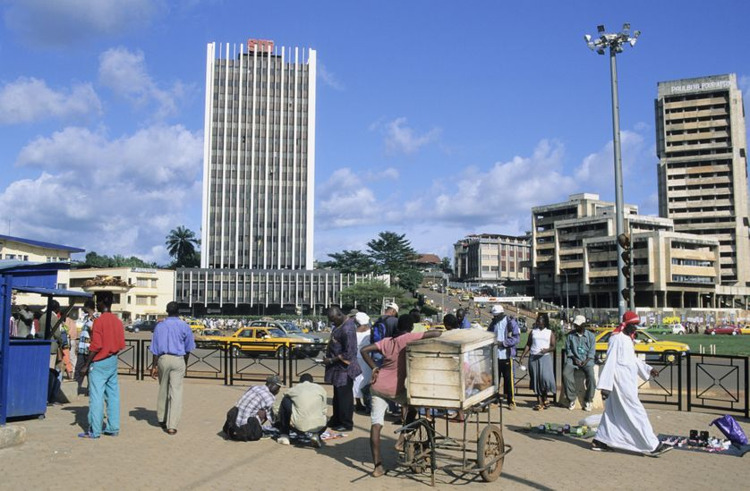 City center, Yaounde, Cameroon, 13/08/2012