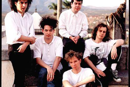 Le groupe au Brésil en mars 1987