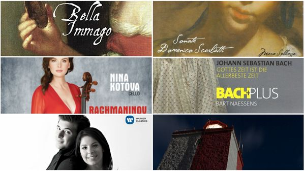 L'actualité du disque : Scarlatti, Rachmaninov-Prokofiev, l'ensemble BachPlus, Schumann-Schubert et Jaakko Kuusisto