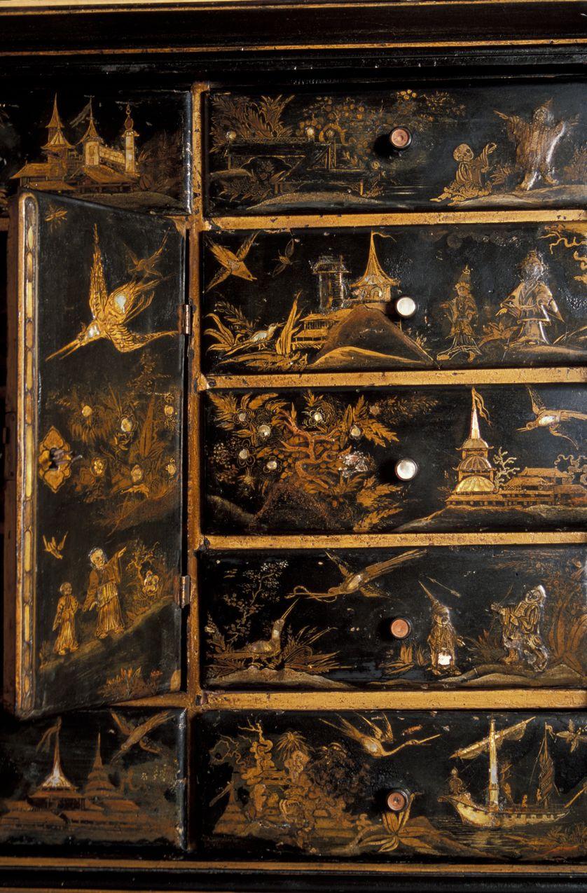 Cabinet japonais de Mallarmé.