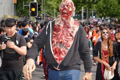 La marche des Zombies à Sydney - 29 octobre 2016