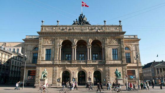 Le Théâtre royal danois à Copenhague