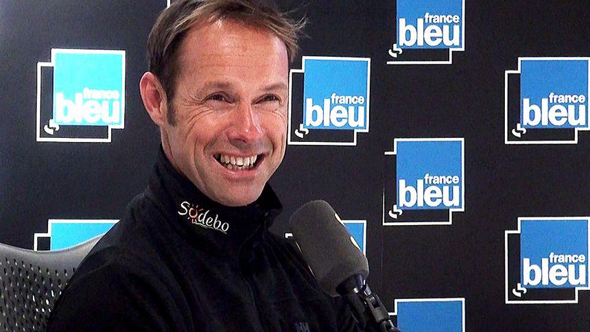 Thomas Coville, recordman du tour du monde à la voile en solitaire