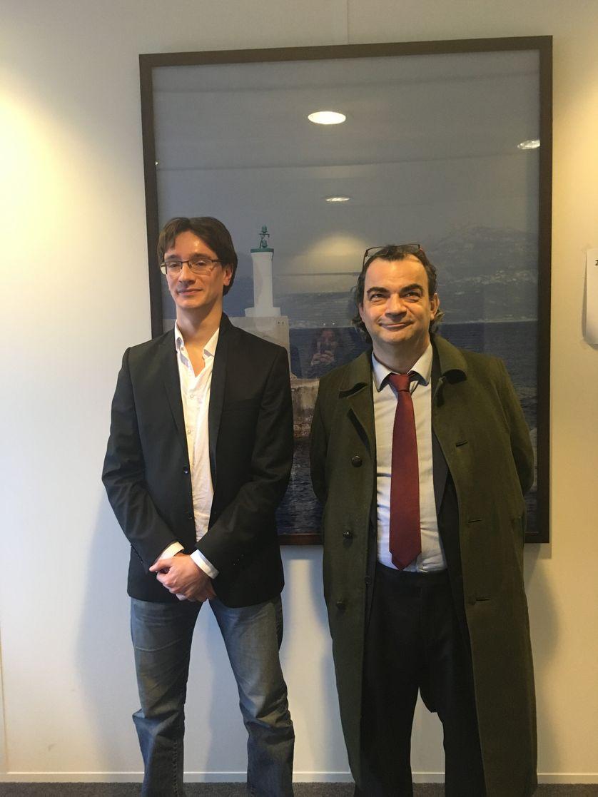 Thibaut Rioufreyt et Patrick Lafarge
