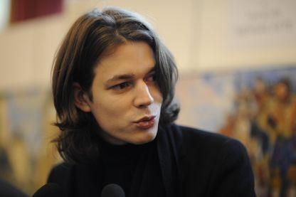 Le pianiste David Fray reçoit la médaille de la ville de Tarbes en 2009