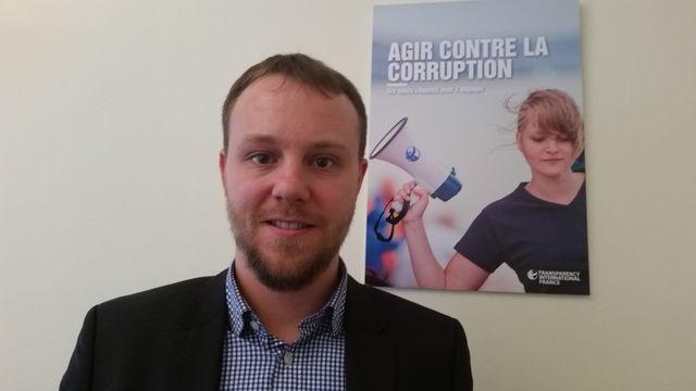 Daniel Freund, responsable de Transparency International en Belgique