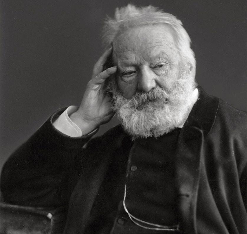 Portrait de Victor Hugo par Nadar (vers 1884).