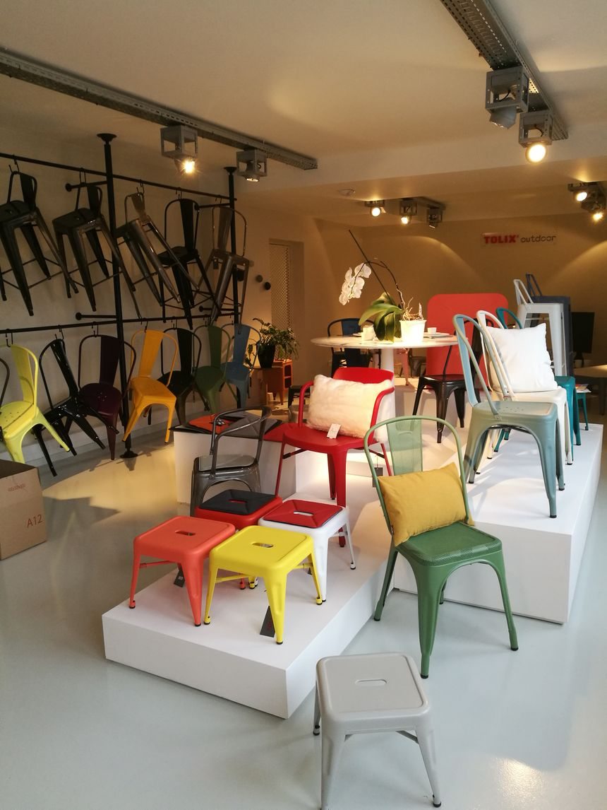 100 Fantastique Concepts Tolix Magasin Usine Autun