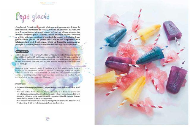 """""""Cuisiner en couleurs : créer des colorants 100 % naturels"""" de Sandrine Costantino - photographies et stylisme Marie Laforêt"""
