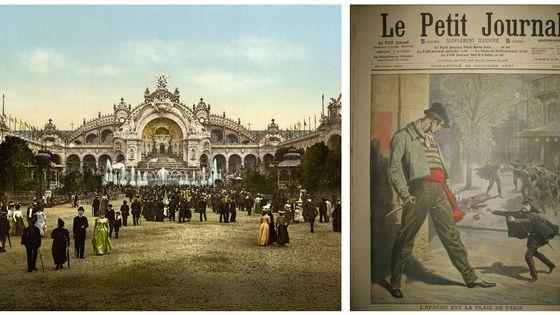 Château d'eau, 1900 / Le Petit Journal du 20-10-1907