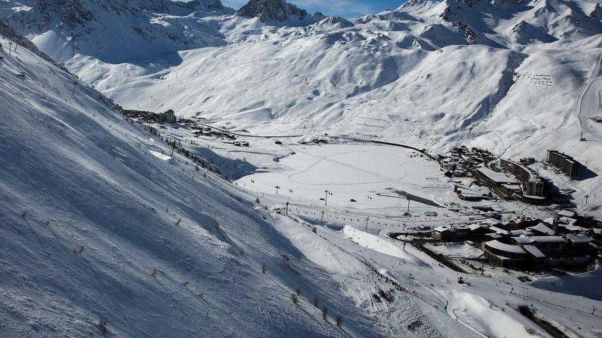 L'avalanche de Tignes s'est détachée sur la pente de la Tovière