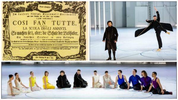 Cosi fan tutte de Mozart au Palais Garnier: Des chanteurs touchés par la grâce